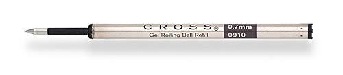 Cross Slim Gel Rolling Ball Refill, Blue, 1Per Card (8910-2), 2-Piece by Cross