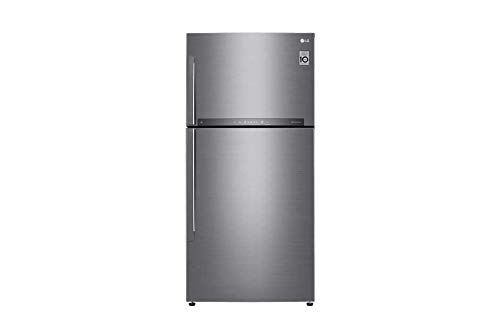 LG 630 L 3 Star Inverter Frost Free Double Door Refrigerator  GR H812HLHU, Platinum Silver 3  Refrigerators