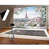 Yongfoto 2x3m Vinyl Foto Hintergrund Tropischer Strand Kamera