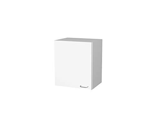 Flex-Well Küchen-Hängeschrank BOCHUM | Oberschrank vielseitig einsetzbar | 1-türig | Breite 50 cm | Weiß
