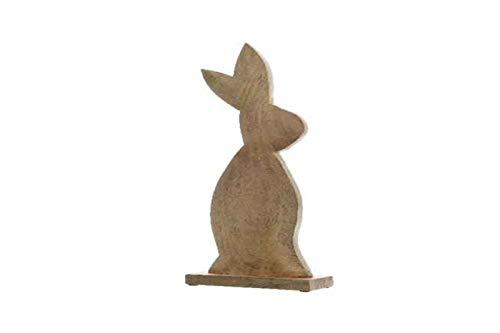 Kaemingk Mangoholz Hase a/Ständer 73cm Stückpreis