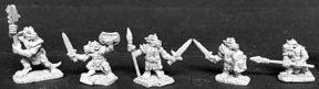 Desconocido Reaper Miniatures 2470 - Leyendas Oscuras: Orc Warrior (sin Pintar) Importado de Alemania