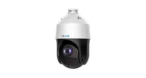 HiLook by Hikvision PTZ-N4215I-DE 2MP 15X Zoom IR True Day & Night Network  PoE IP CCTV PTZ Up to 100 IR H 265+ 120dBWDR IP66 - White