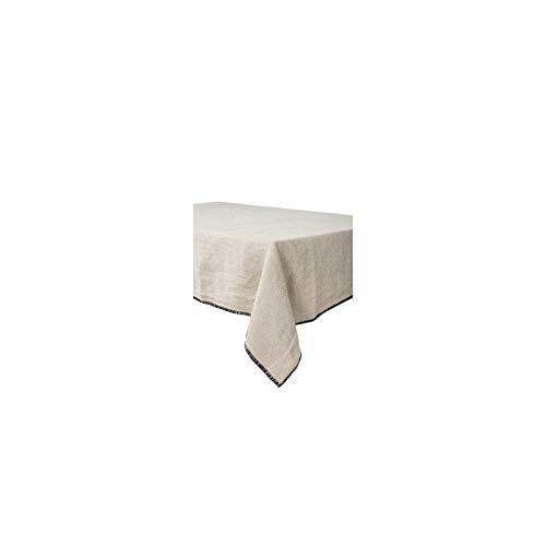Harmony - Nappe en lin lavé Letia - 100% lin stone wash - Naturel - 170x300cm