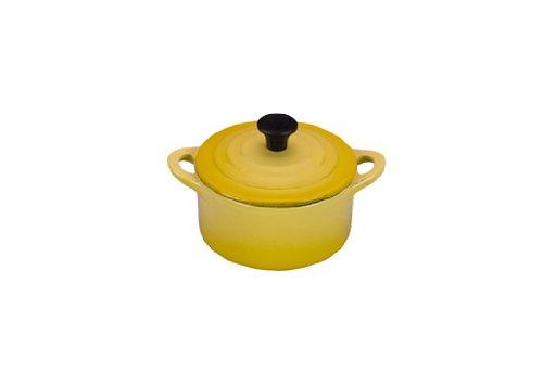 Creuset Iron Cast Le Dutch Oven (Le Creuset Enameled Cast-Iron Mini Cocotte, 1/3-Quart, Soleil)