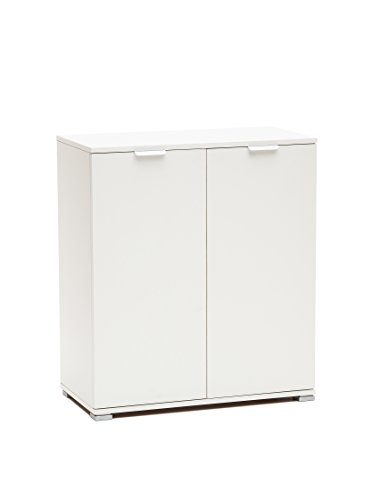 Up on me238lac armadietto gia' montato, legno, laccato bianco, 38 x 75 x 85 cm