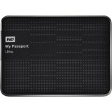 WD My Passport Ultra 1TB Portable External Hard Drive (Black)-WDBZFP0010BBK-BESN