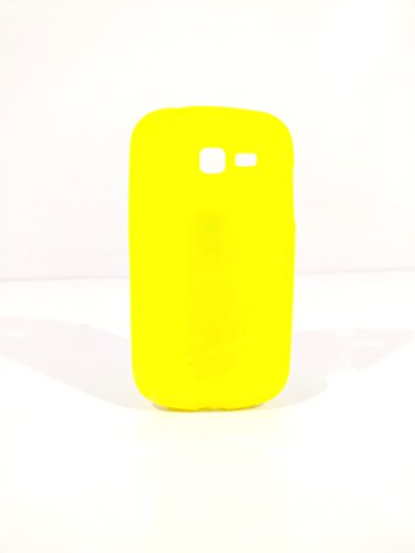 iCandy™ Colorfull Thin Soft TPU Back Cover For Samsung Galaxy Star Pro S7260 / S7262 - Yellow  available at amazon for Rs.99