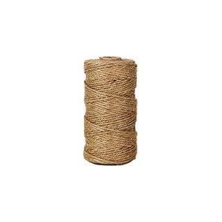 KRAFTZ® - 50 Meters Natural Brown Jute Twine Hemp Rope String Cord Craft Making DIY
