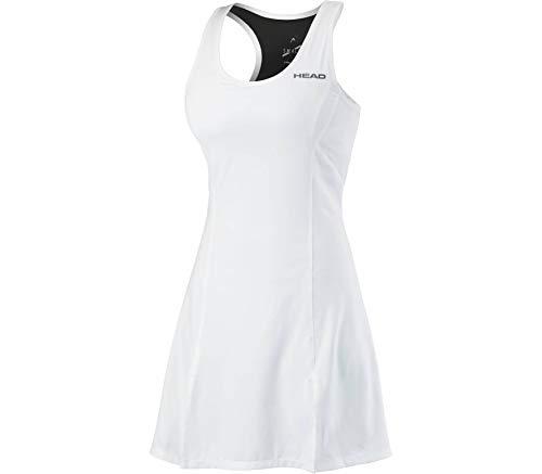 HEAD - Club Damen Tenniskleid weiß S