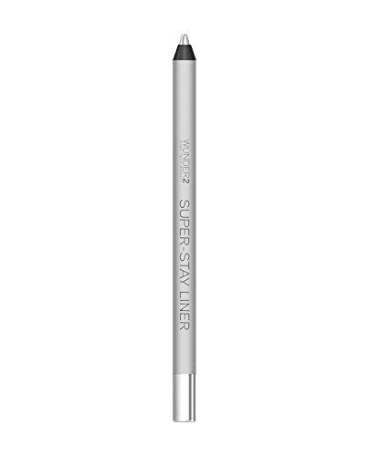 Wunder2 SUPER-STAY LINER lang anhaltende & wasserfeste Augenstifte, Metallic Silver, 1 g
