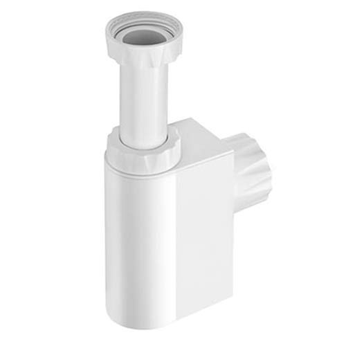 Studor White Design Trap Vent Integrated Basin Trap and Air Admittance  Valve 32mm 0utlet
