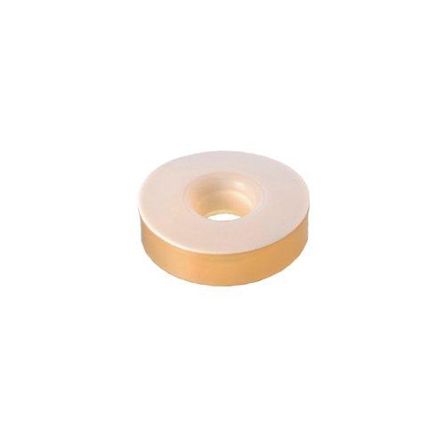 DURAN 29 236 14 Silikon-Dichtung (VMQ) mit aufvulkanisierter PTFE-Stulpe, 32 GL für DIN-Gewinde, 13-15 für Rohr Durchmesser, 10 Stück -