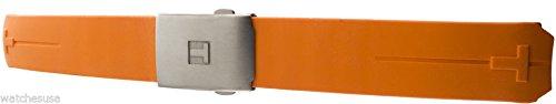 Originales Tissot T-Touch Gummi Uhrenarmband mit Schnalle / z252z253, 20mm