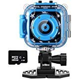 Ourlife Kids Action Cam, Action Camera per bambini con registratore video con 8 GB di memoria