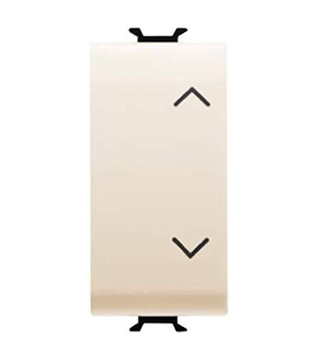 Gewiss Chorus-Switch 1Modul 1Polo 10AX sube-baja Elfenbein