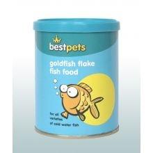 Best Pets Goldfish Flakes Fischfutter, Unterschiedlich, 40g