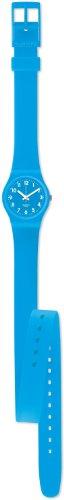 Swatch Damen-Armbanduhr XS Lady Collection Analog Silikon LS112 - 2