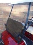Yamaha G22 TINTED Golf Cart Windshield 2003 to 2006 by Parts Direct (Yamaha Golf Cart Parts)
