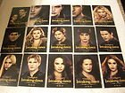 Twilight Breaking Dawn Series 2 promo card set of 15 cards - SDCC 2012