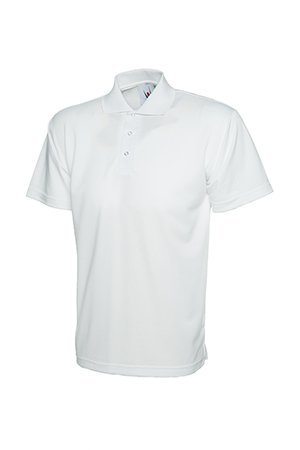 MAKZ Verarbeitbare Polohemd Weiß