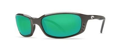 Costa Del Sole 580grün Spiegel Glas Sonnenbrille Gr. Small, Grau - Frame: Gunmetal/Lens: Green Mirror
