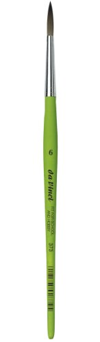 Da Vinci 373Serie RUND Pinsel, synthetische Fasern, grün, 19,3x 0,38x 30cm