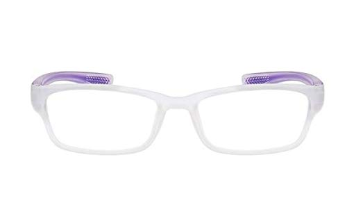LUXIAOYU Lesebrille, Europäische und amerikanische Mode, Ultraleicht und Komfortabel, Laufen, Flüsse, Männer und Frauen, Brillen, Älteste, Geschenkartikel, intime Wahl,Purple,250degrees