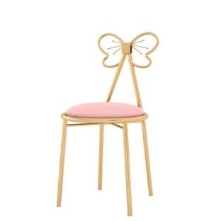 Butterfly-tische-stühle (YCDZ STORE Stühle Nordic Minimalist Schlafzimmerstuhl Persönlichkeit Café Tisch und Stuhl Kunst Esszimmerstuhl (Butterfly Chair) (Farbe : Butterfly Chair))