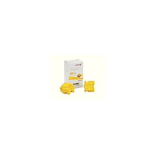 8700 Festtinte (Xerox Festtinte gelb 8700 2x Sticks)