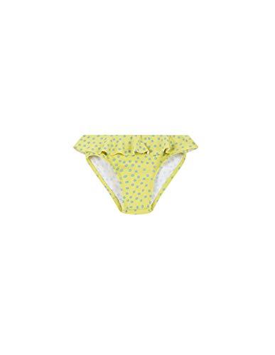 Gocco CULETIN Lunares Traje de baño de una Pieza, Bebé-Niñas, Amarillo Amarillo Claro YC, 92 Tamaño...