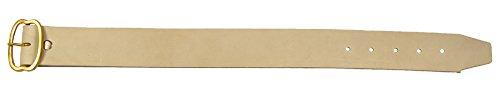 IMEX El Zorro 22143 – Collier de cuir de mouton 60 x 4,5 cm (boucle fer)