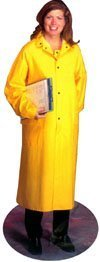 PVC Industrial Rain coats, 35 mil Size Small by West Chester (Coat Chester)