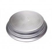 Runde Cake-drum 14 (Runder Napier-Tortenständer (35 cm) in Silber)