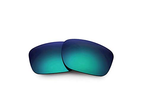 Polarisierte Ersatzgläser für Oakley Sliver Metals OO9262 (Green)