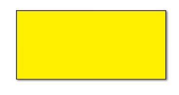 SATO Kendo Étiquettes 26x 12mm Jaune Rectangle pelables (18carats) pour