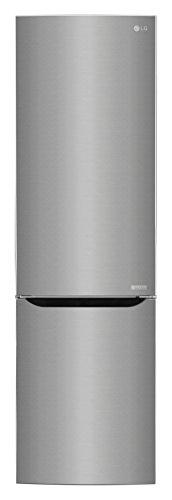 LG Electronics GBB 60 SAGFS Kühl-Gefrier-Kombination (Gefrierteil unten) / A+++ / 201 cm / 178 kWh/Jahr / 250 L Kühlteil / 93 L Gefrierteil/Inverter Linear Kompressor/No Frost/saffiano