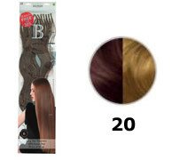 Balmain Fill-In Extensions Value Pack Natural Straight- 20, medium Pearl blond (Pearl Blonde Natural)