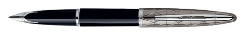 Waterman Carene Contemporary-Penna a sfera a punta media, colore: nero, penna stilografica 1771535 by Waterman