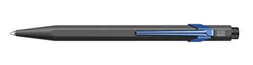 Caran d-Ache 849.549 - Bolígrafo (Gris, Azul, Clip-on retractable ballpoint...