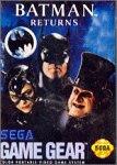 Batman Return Sega Game Gear