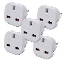 Sockit UK to EU Adapter 5 -10 - 20 Pack