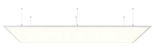KapegoLED lampada da parete LED pannello 3K II Lampada da soffitto, 220-240V, 40W, Bianco satinato, classe di efficienza energetica: A