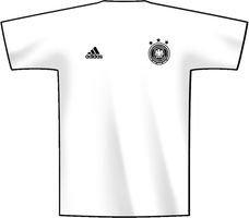 adidas Trikot DFB Fanshop Deutschland Home Schweinsteiger, Weiß, L, D04259