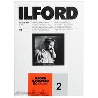Ilford Ilfospeed - Pack de 100 hojas 12.7 x 17.8 cm, color blanco