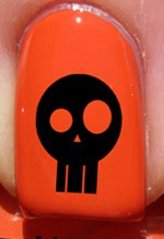 Halloween Crâne - Stickers pour ongles YRNAILS