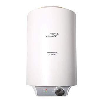 V-Guard Steamer Plus EC 25 Lit Storage Water Geyser Heater