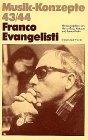 Franco Evangelisti (Musik-Konzepte 43...