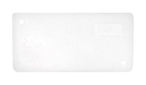 raaco 101998 Set de séparateurs 48 pièces pour tiroir 150-01, Transparent