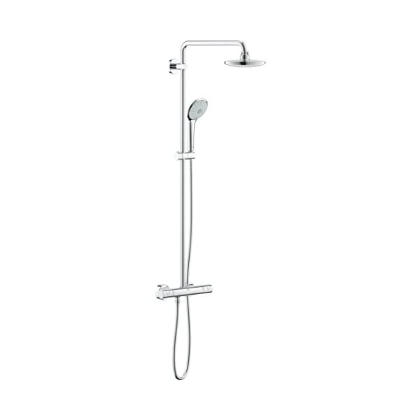 GROHE 27296001 Euphoria System 180 Shower System with Thermostat 21NA0flqxkL